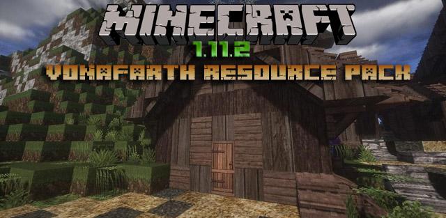 Скачать 3D текстуры Vonafarth для Minecraft 1.12.2