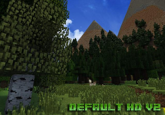 Текстуры Default HD для Minecraft 1.12.2 / Скачать бесплатно