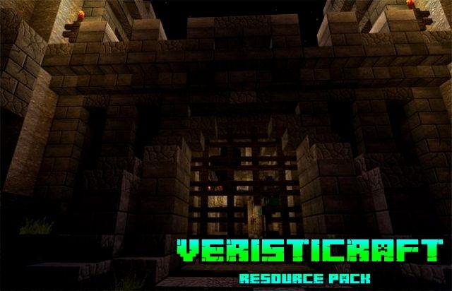 Текстуры Veristicraft для Майнкрафт 1.14