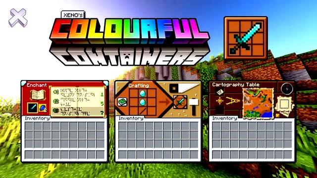 Скачать цветные текстуры для Майнкрафт 1.15, 1.14