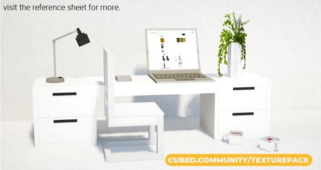 Скачать текстуры Cubed для Майнкрафт 1.15