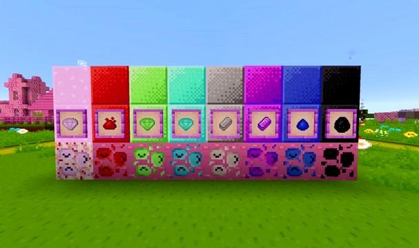 Скачать текстуры Kawaii World для Майнкрафт 1.15