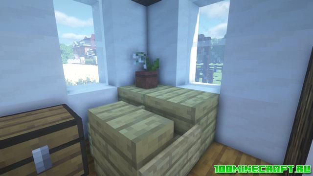 Текстуры Better Vanilla Buildings Minecraft 1.16.5