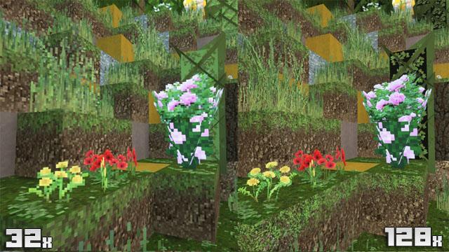 Текстуры 128х HD для Майнкрафт   Реалистичный текстур пак