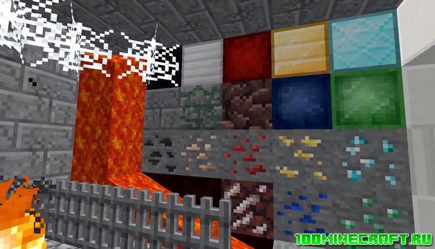 Текстуры Unity PBR для Minecraft 1.16.5