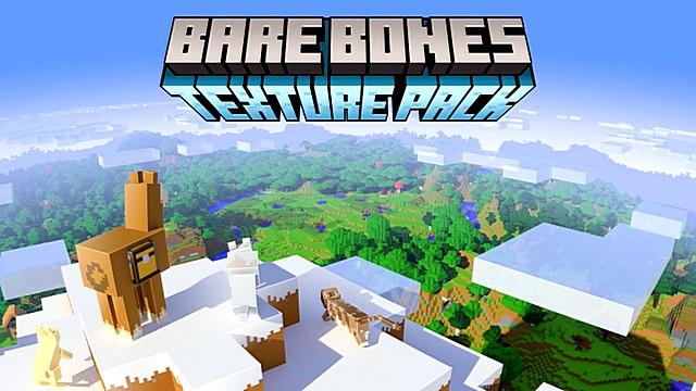 Скачать текстуры Bare Bones для Майнкрафт 1.16, 1.15