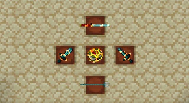 Текстур пак для Майнкрафт 1.16 - Visual Enchantments