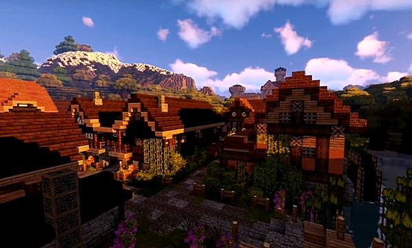 Скачать текстуры Winthor Medieval для Майнкрафт 1.16