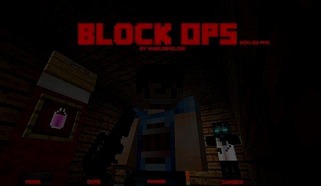 Бесплатно скачать текстуры Block Ops Зомби для Майнкрафт 1.7.9, 1.8