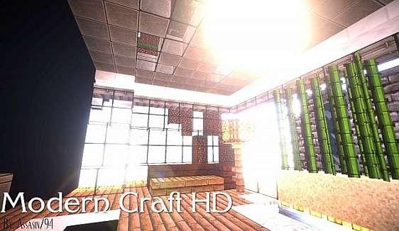 Текстуры для Майнкрафт 1.8/1.7/1.6 - Modern Craft HD / Скачать бесплатно
