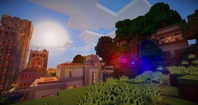 Скачать текстуры для Minecraft 1.5.2 / NahenCraft 64x