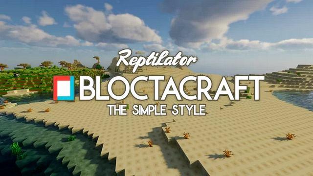 Текстуры Bloctacraft 16х для Майнкрафт 1.16