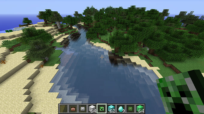 Реалистичная вода / Скачать бесплатно shader для Майнкрафт 1.6.2