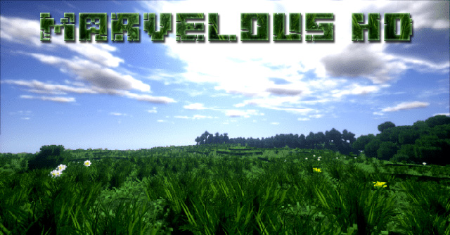 Текстуры Marvelous HD для Minecraft 1.13.2