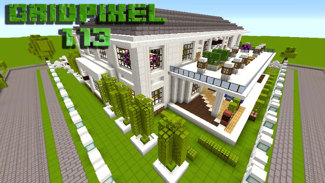 Скачать текстуры Gridpexel для Майнкрафт 1.13