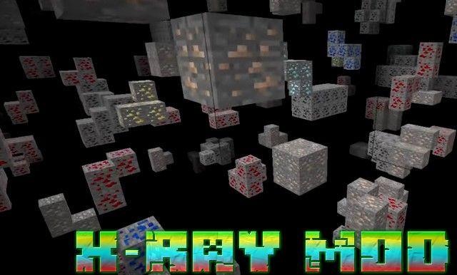 Мод на чит X-Ray для Minecraft 1.13.2