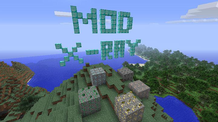 Скачать бесплатно чит мод X-Ray для Minecraft 1.6.2